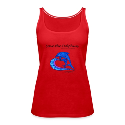 Save the Dolphins - Frauen Premium Tank Top