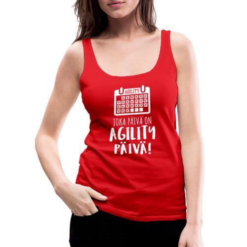 Joka Päivä Agility - Naisten premium hihaton toppi