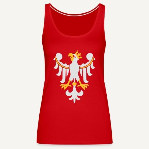 Orzeł Piastowski - Tank top damski Premium