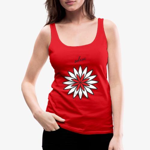 SOLRAC Central Red - Camiseta de tirantes premium mujer