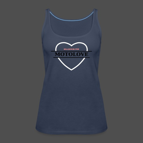MOTO LOVE - Women's Premium Tank Top