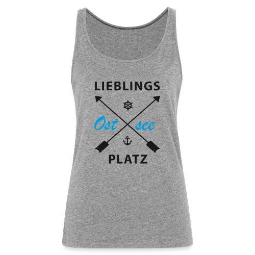 Lieblingsplatz Ostsee - Frauen Premium Tank Top