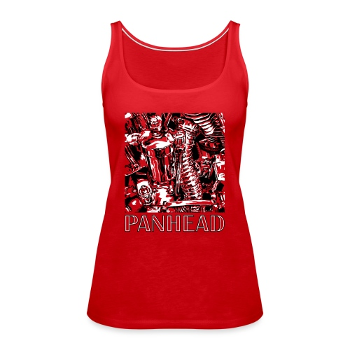 Panhead motordetail 03 - Vrouwen Premium tank top