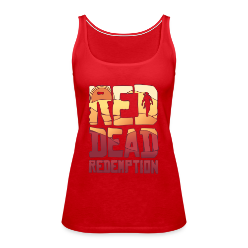 Red dead redemtion Sunset - Camiseta de tirantes premium mujer