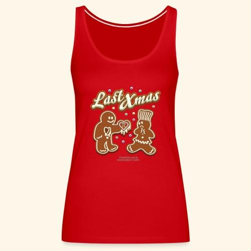 Ugly Christmas Last Xmas Design - Frauen Premium Tank Top