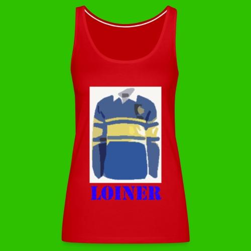 Leeds Loiner [Blue] - Women's Premium Tank Top