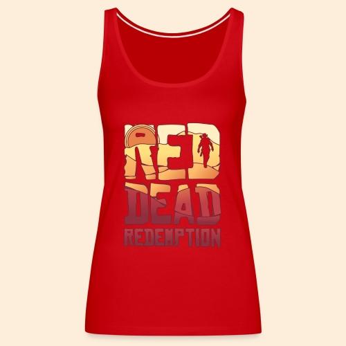 Red dead redemtion Sunset - Camiseta de tirantes premium mujer
