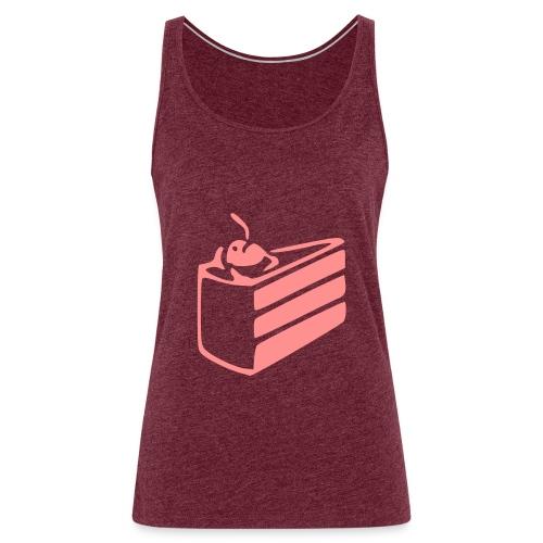 portal cake - Camiseta de tirantes premium mujer