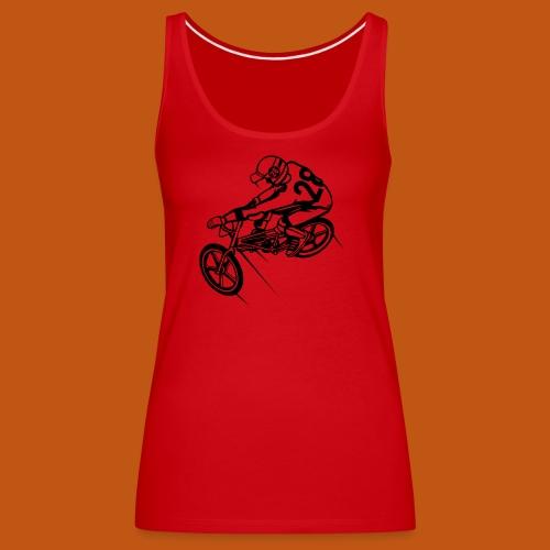 BMX Fahrrad / Bike 01_schwarz - Frauen Premium Tank Top
