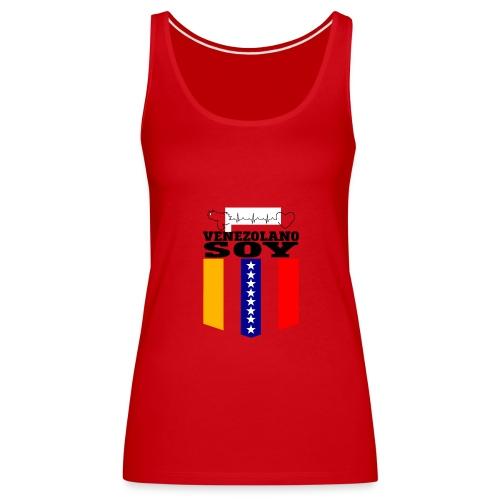 VZLA3 - Camiseta de tirantes premium mujer