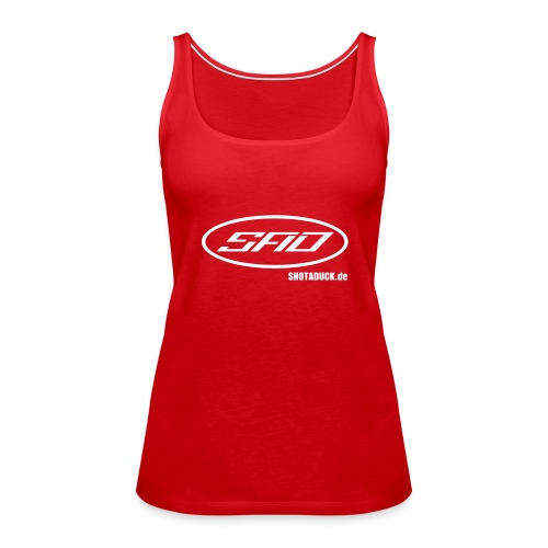 shotaduck sadshirt - Frauen Premium Tank Top