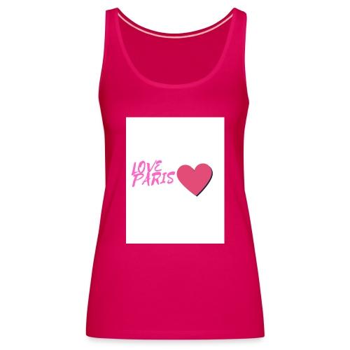 love paris rose - Débardeur Premium Femme