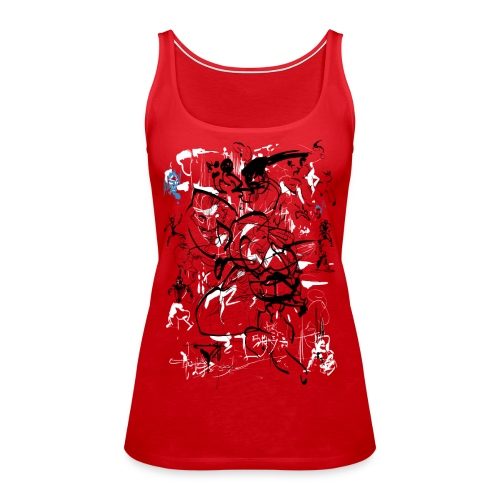 art of shaolin - Women's Premium Tank Top