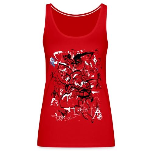 art of shaolin - Women's Premium Tank Top