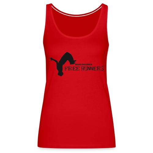 FREERUN - Vrouwen Premium tank top
