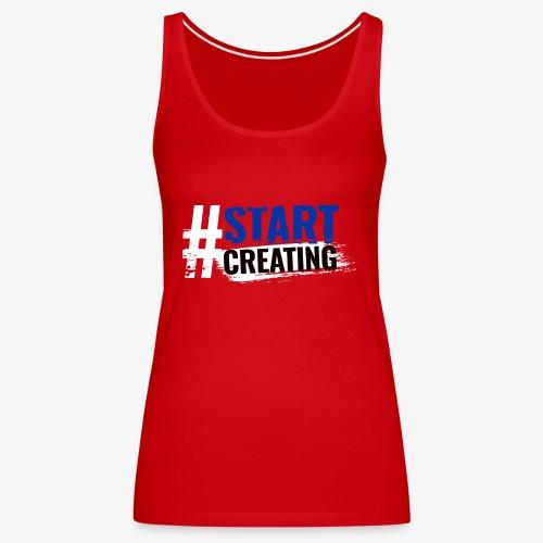 #STARTCREATING - Women's Premium Tank Top