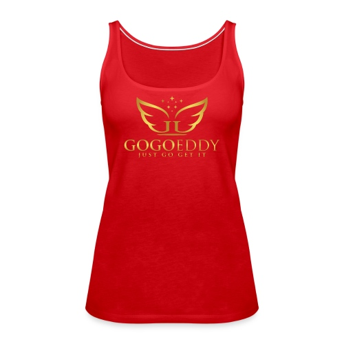 GoGo Eddy Gold Merchandise - Women's Premium Tank Top