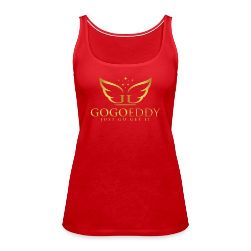 GoGo Eddy Gold Merchandise - Women's Premium Tank Top