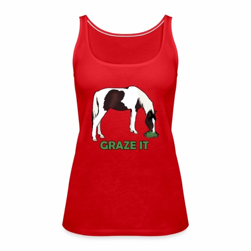 Graze It - Frauen Premium Tank Top
