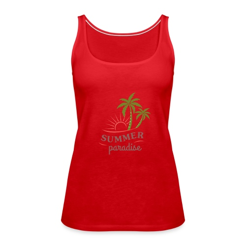 Summer paradise - Women's Premium Tank Top