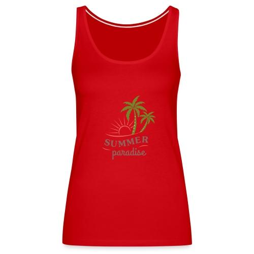 Summer paradise - Women's Premium Tank Top