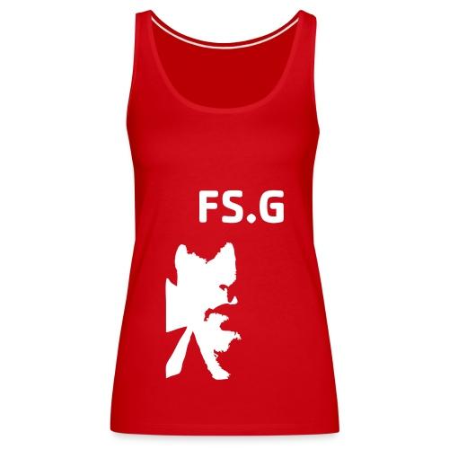 frankfaceinv - Frauen Premium Tank Top