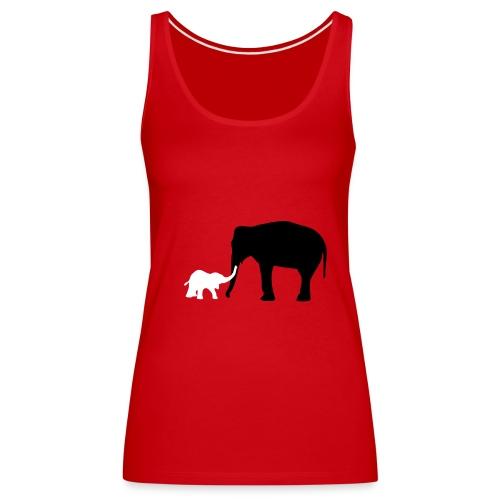 Elephanti - Vrouwen Premium tank top