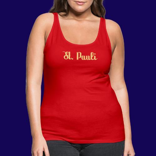 St. Pauli Logotype: Dein Kieztour Begleiter - Frauen Premium Tank Top