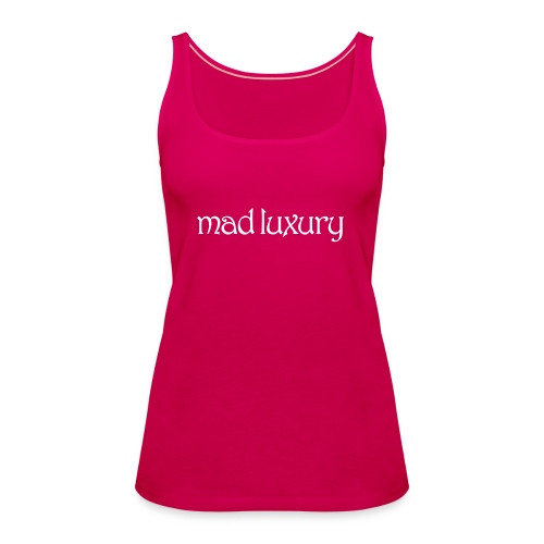 Mad Luxury Logo - Women's Premium Tank Top