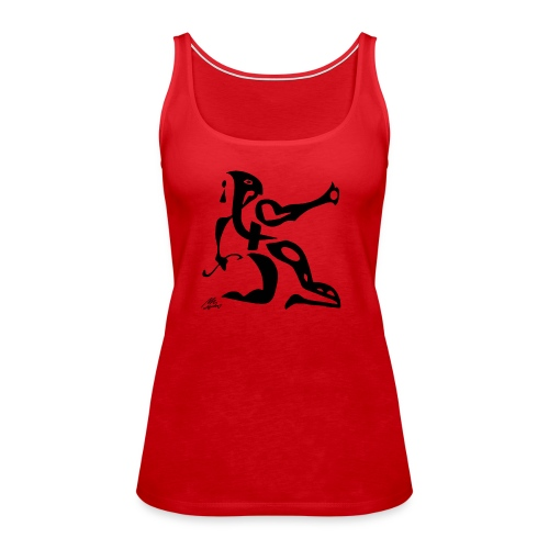 The Sphinx - Dame Premium tanktop