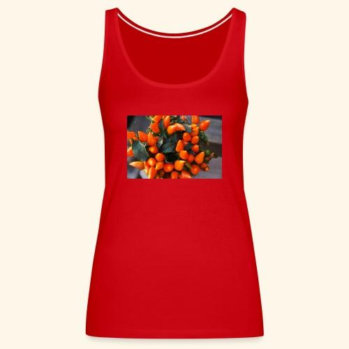 chili orange - Frauen Premium Tank Top