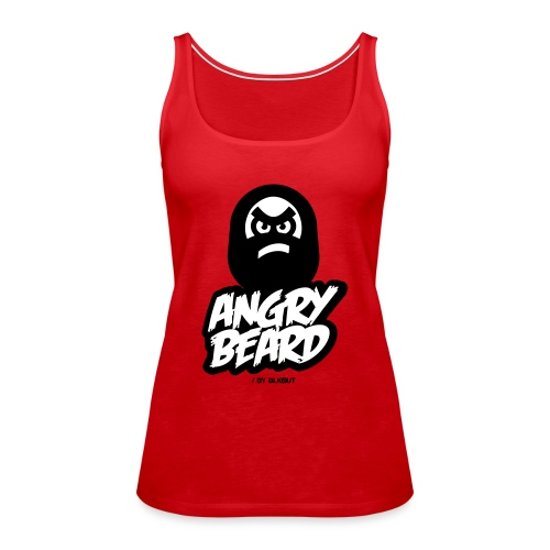 ANGRY BEARD - Tank top damski Premium