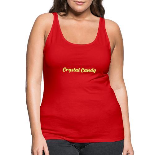 Camiseta basica CrystalCandy - Camiseta de tirantes premium mujer