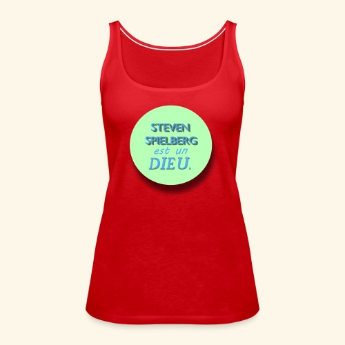 Steven Spielberg - Collection Flat Circle - Débardeur Premium Femme