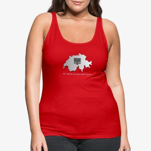 Schweiz & Albanien WM Shirt - Frauen Premium Tank Top