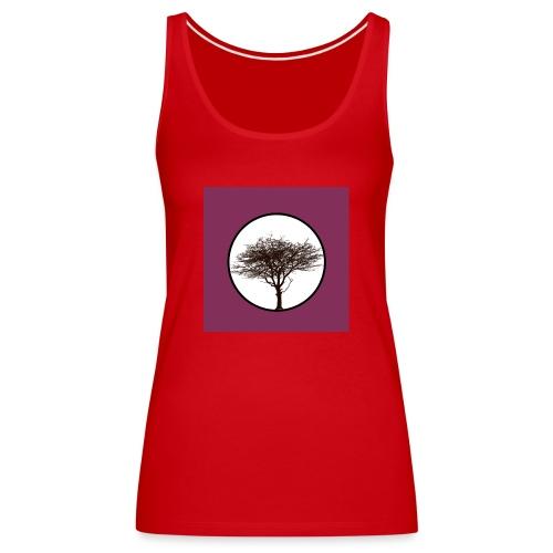 Baum in Kreis - Frauen Premium Tank Top
