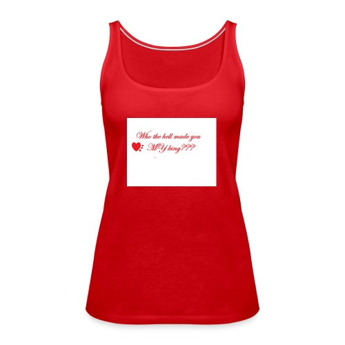 LoveYourselfTheMost - Women's Premium Tank Top