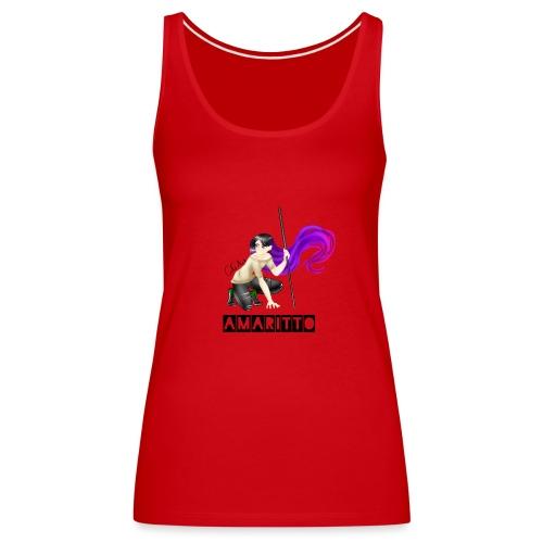 official amaritto logo - Women's Premium Tank Top