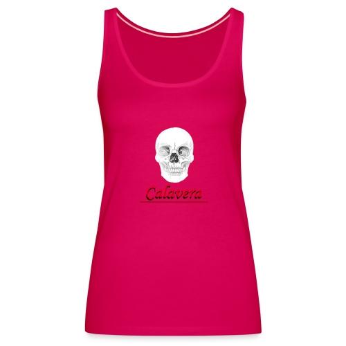 Calavera - Camiseta de tirantes premium mujer