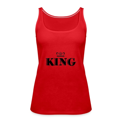 King - Frauen Premium Tank Top