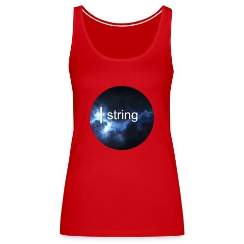 string Circle - Women's Premium Tank Top