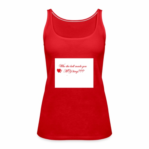 LoveYourselfTheMost - Women's Premium Tank Top