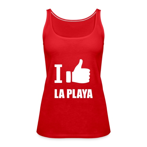 I like LA PLAYA Daumen - Frauen Premium Tank Top
