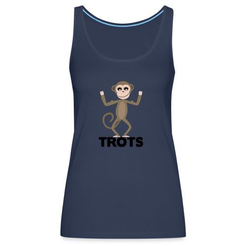 apetrots aapje wat trots is - Vrouwen Premium tank top