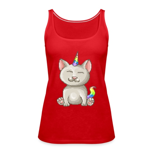 Kitty Unicorn - Frauen Premium Tank Top