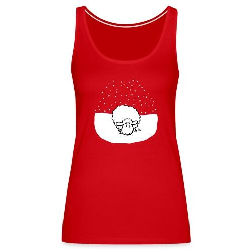 Snowy Sheep - Women's Premium Tank Top