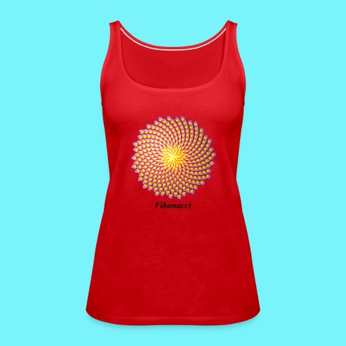 Fibonacci flower - Women's Premium Tank Top