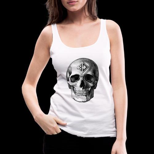 Skull tatoo - Débardeur Premium Femme