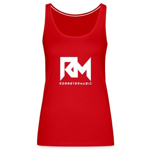 Original RM-Logo White - Frauen Premium Tank Top