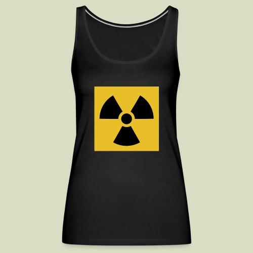 Radiation warning - Naisten premium hihaton toppi